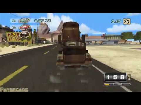 Cars: Superdrive Edition: Playable Mack! sort of...