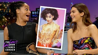 Tracee Ellis Ross & Kendall Jenner Nerd Out Over Runway Modeling