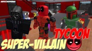 Playing Roblox Super Villian Tycoon Ft. Diamondplays151/Dragon Gaming