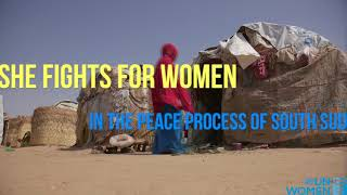 Young women leaders building peace