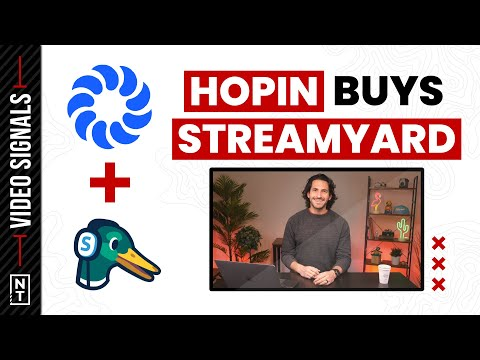 Hopin Buys StreamYard, Sony's new Drone, and More