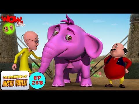 Motu Patlu Dan Gajah Pink - Motu Patlu dalam Bahasa - Animasi 3D Kartun