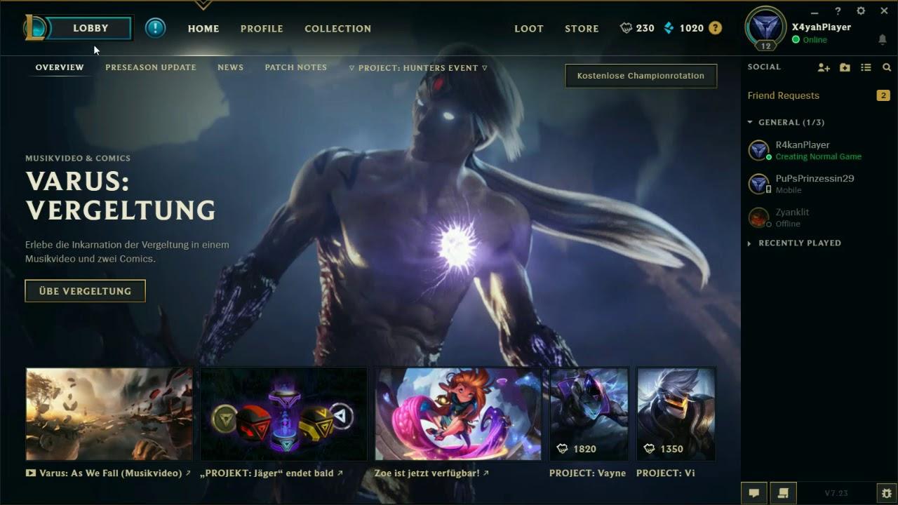 League Of Legends Bug Report #1