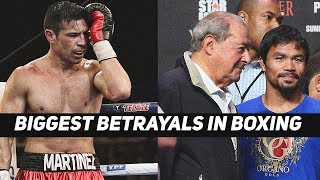 Biggest Betrayals In Boxing