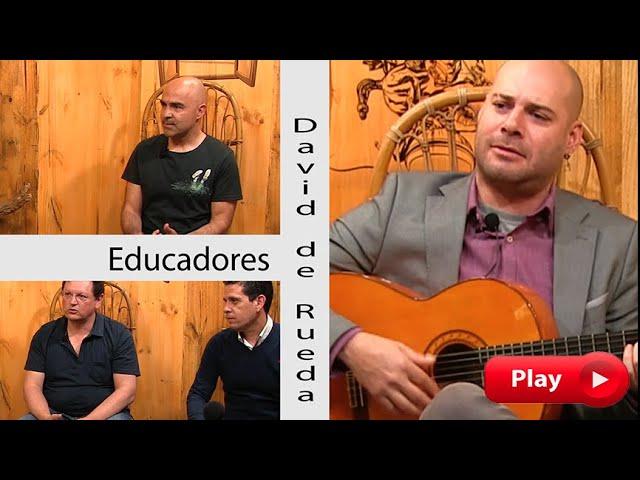 LA NOCHE CON ÁNGEL - Educadores y David de Rueda