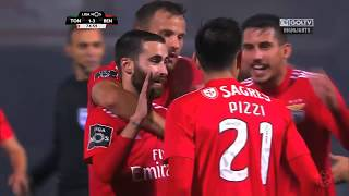 Tondela 1:3 Benfica
