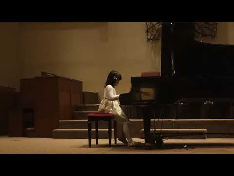 [9y0m] 2017 Fall Piano Recital, Mozart Sonata K282 Mov 2 & Mov 3