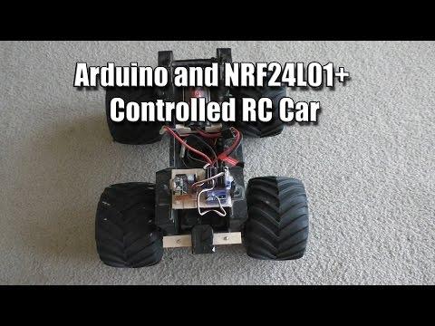 RC Car Using Arduino and NRF24L01+
