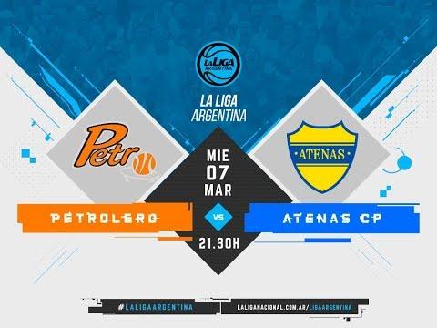 #LaLigaArgentina | 07.03.2018 Petrolero vs. Atenas de Carmen de Patagones