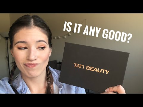 Tati Beauty Textured Neutrals Volume 1 Eyeshadow Palette First Impressions and Try-On thumbnail