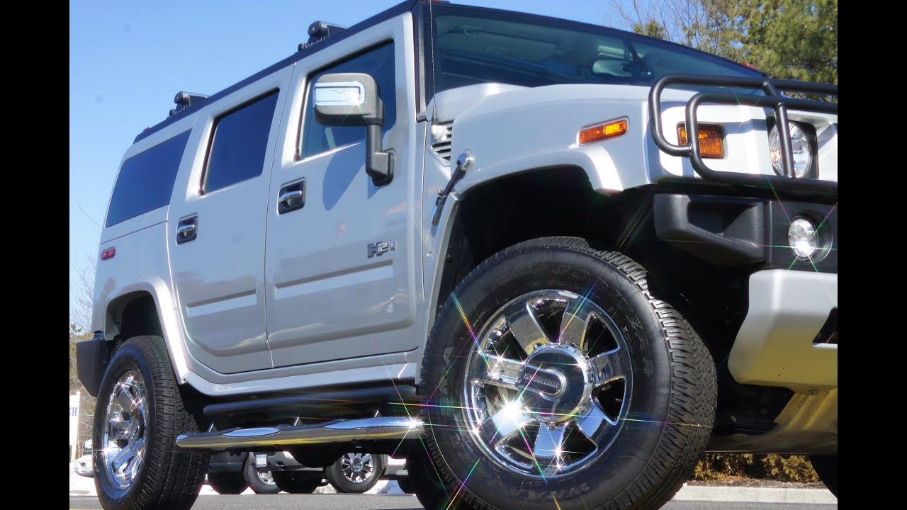 SOLD 2009 Hummer H2 Luxuary For Sale Silver Ice Metallic Very