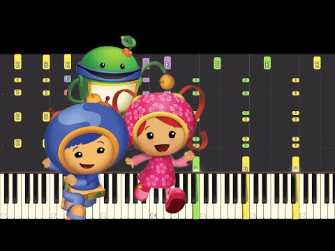 IMPOSSIBLE REMIX - Team Umizoomi Theme Song - Piano Cover