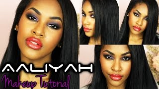 Aaliyah Inspired Makeup Tutorial Thumbnail