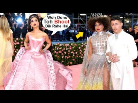 Deepika Padukone IGNORES Priyanka Chopra & Nick Jonas In Front Of Media At Met Gala 2019