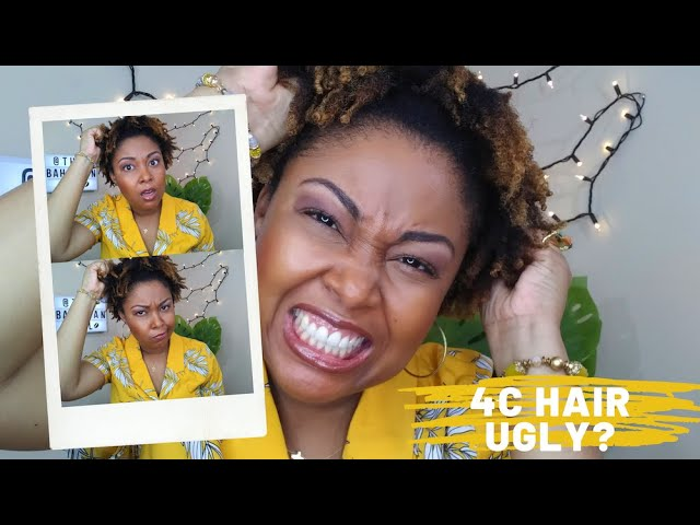 Is 4C Hair Ugly | 4C Natural Hair | | 4C Hair | Ugly 4C |Texture Discrimination | This Bahamian Gyal