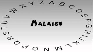 How to Say or Pronounce Malaise