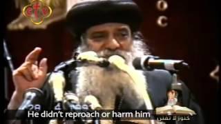 عتاب الله لأولاده و لأحبائه † عظه للبابا شنوده الثالث  † 1993 † GOD's reproach to his beloved