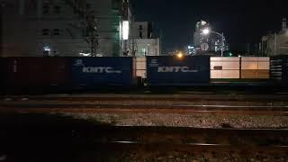 7558호 디젤기관차 옥계발 부산진행 3699 컨테이너…