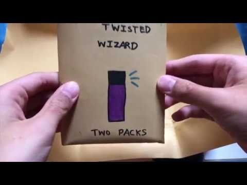 New Package! My homemade TCG card game Twister Wizard