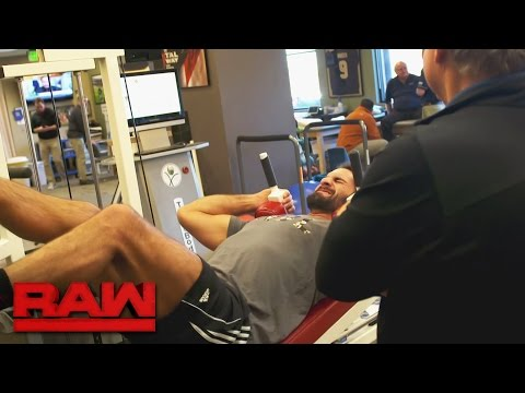 Seth Rollins' physical therapist provides a medical update: Raw, March 20, 2017