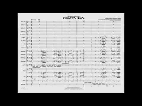I Want You Back arranged by John Wasson