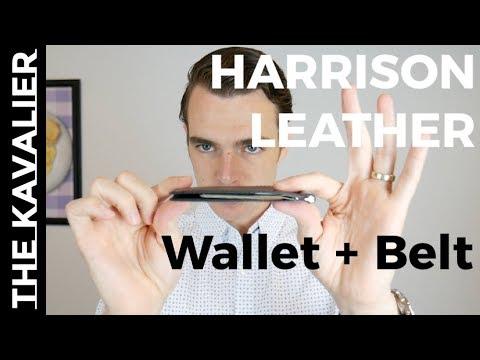 Harrison Australia Unboxing - Kangaroo Leather Wallets & Handcrafted Goods