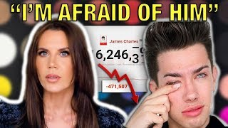 TATI WESTBROOK HAS OFFICIALLY CANCELED JAMES CHARLES (HE RESPONDS AFTER BUYING SUBSCRIBERS)