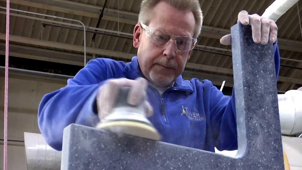 Solid Surface Fabrication - YouTube