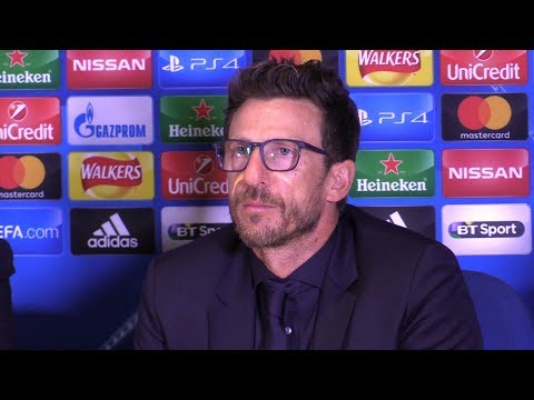 Chelsea 3-3 Roma - Eusebio Di Francesco Full Post Match Press Conference - Champions League