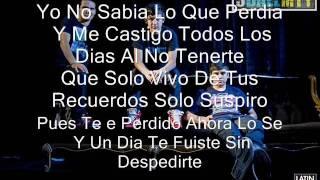 3ballmty-besos al aire con letra (song 2012 )
