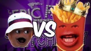 Annoying Orange - Epic Rap Battles Of Kitchenry #2 - Epic Rap Battles Of History Parody