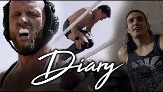 Josh Alexander VS Mike Bailey Strong Style at Destiny Wrestling - Diary