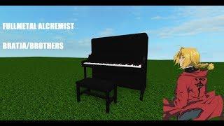 Fullmetal Alchemist, Brothers/Bratja On A Roblox Piano