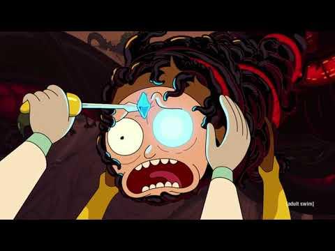Symbiote Morty Vs Wasp Rick And Normal Rick - Rick And Morty