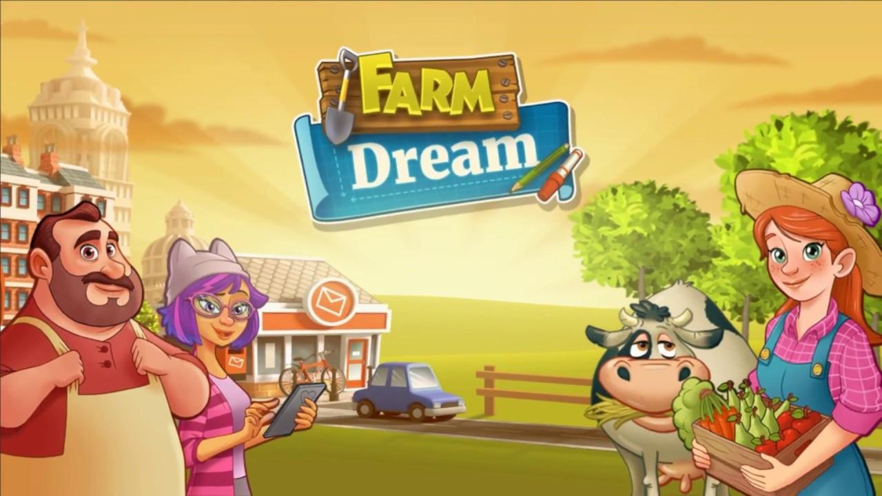 Resultado de imagem para Farm Dream: Village Harvest – Town Paradise Sim