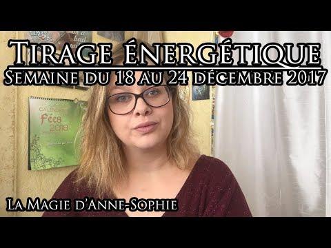Tirage des énergies de la semaine du 18 au 24 décembre 2017