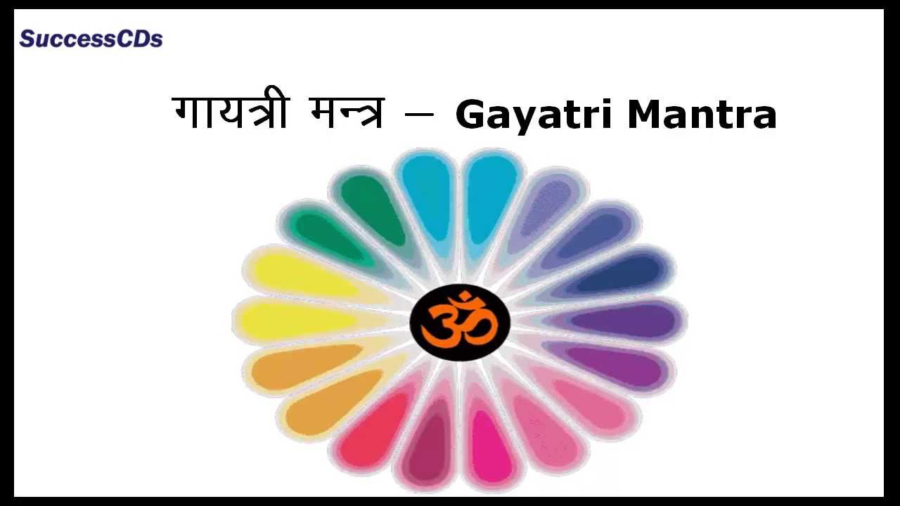 Gayatri Mantra Word By Word Meaning In English Youtube