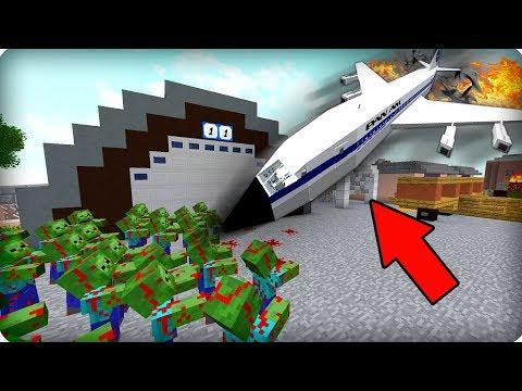🔥Аварийная посадка [ЧАСТЬ 29] Зомби апокалипсис в майнкрафт! - (Minecraft - Сериал)