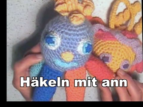 Eine Kleine Krake Häkeln Mr Octopus Amigurumis German Version