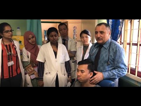 Thyroid Examination Part 2 by Prof Dr Bashir Ahmed Dar Sopore Kashmir