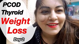 Download Video Weight Loss Exercise for PCOD Thyroid | Aerobics Dance Workout at Home Day2 | JSuper kaur MP3 3GP MP4