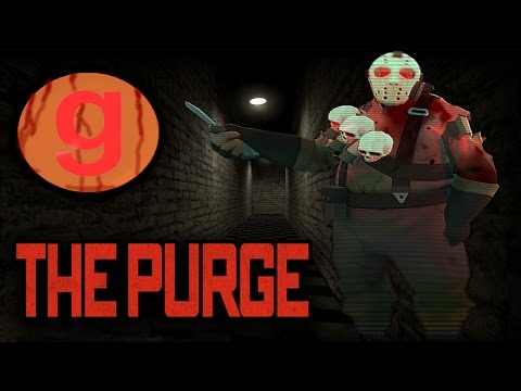 Gmod THE PURGE - KILLING EVERYONE IN THE SERVER!! Garry's Mod Funny Moments