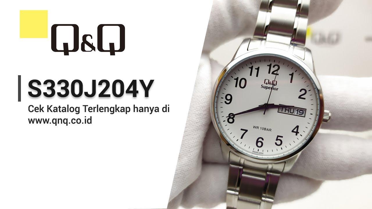 Q Q Superior S330j204y Jam Tangan Pria Analog Q Q Indonesia Youtube