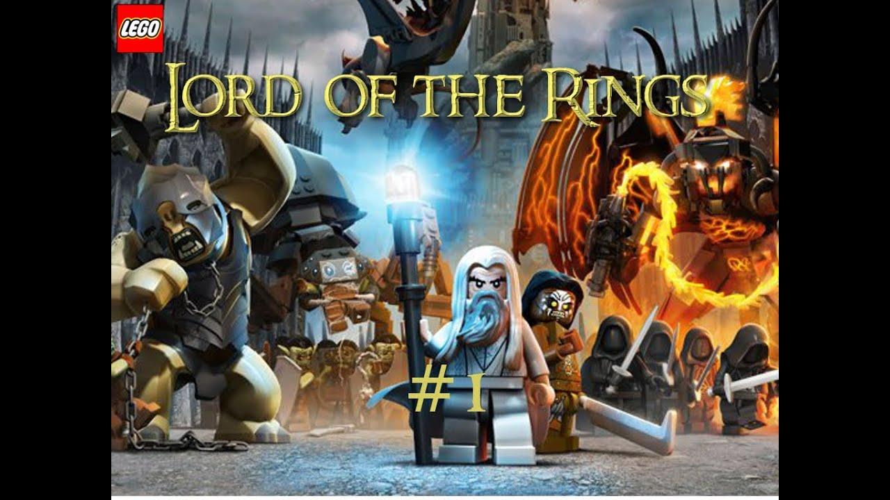 Zagrajmy W Lego Władca Pierścieni Odc1 Youtube
