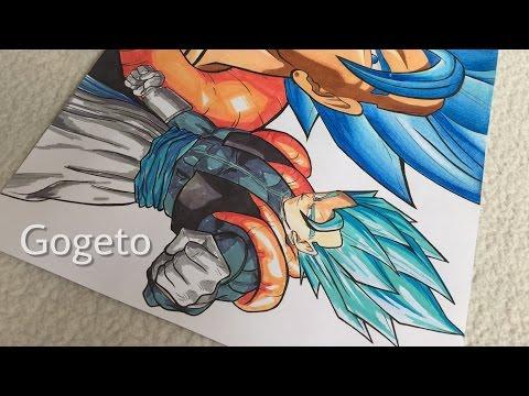 GOGETA SUPER SAIYAN BLUE - How Do I Draw