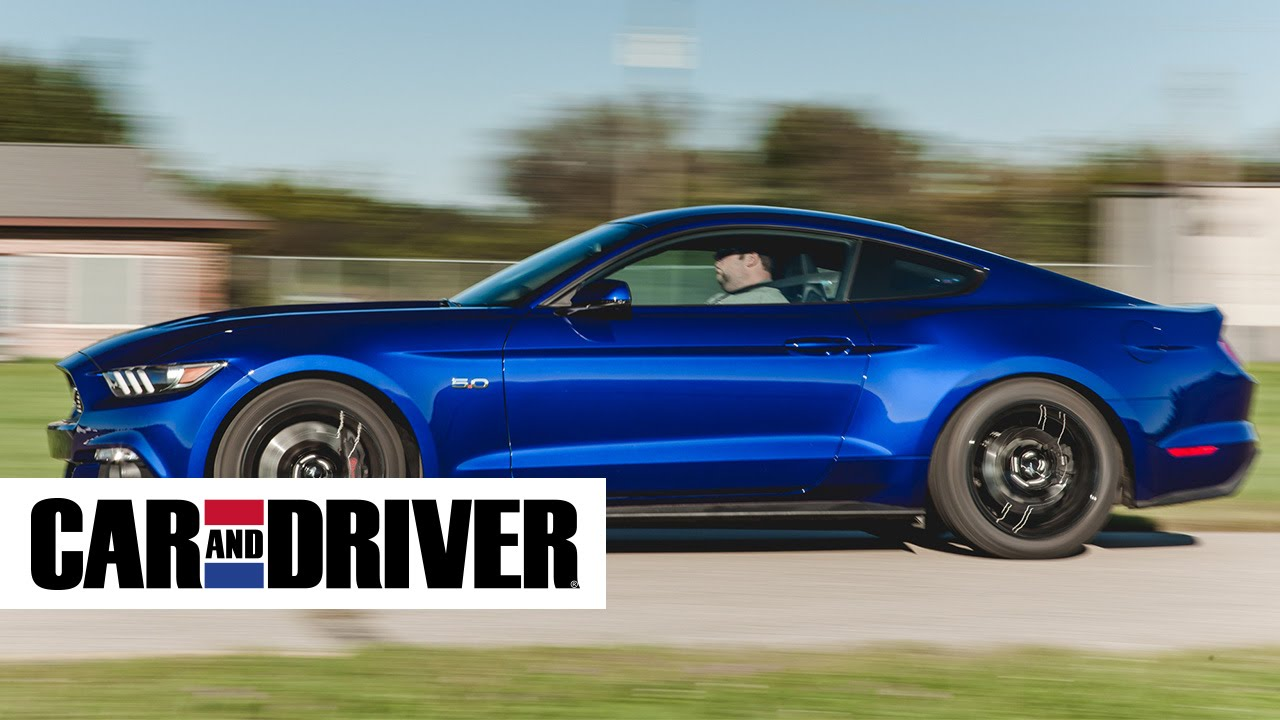 2017 Ford Mustang Ecoboost Review In 60 Seconds Car And Driver You