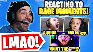 Reacting To The CRAZIEST Warzone Rage..
