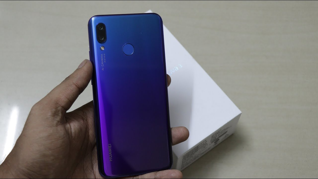 Huawei Nova 3 [India Exclusive] Unboxing and First Impression