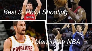 Top 10 NBA Big Man 3-Point Shooters HD