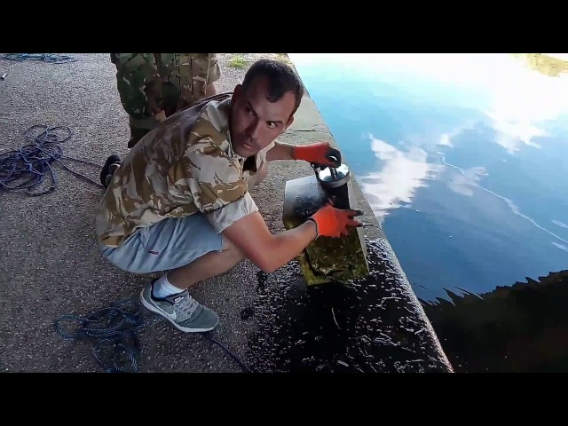 Stolen safe and money boxes found magnet fishing - YouTube